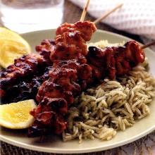 Σουβλάκι κοτόπουλου (Satay)